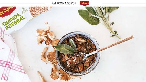 Quinoa con rebozuelos y aceite de trufa: un paseo gustativo por el bosque