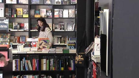 Una librería imprime libros en el acto