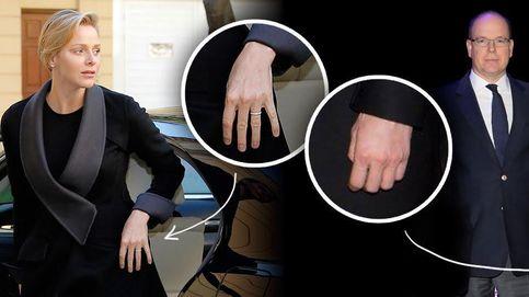 La princesa Charlène de Mónaco ya no luce su alianza de casada