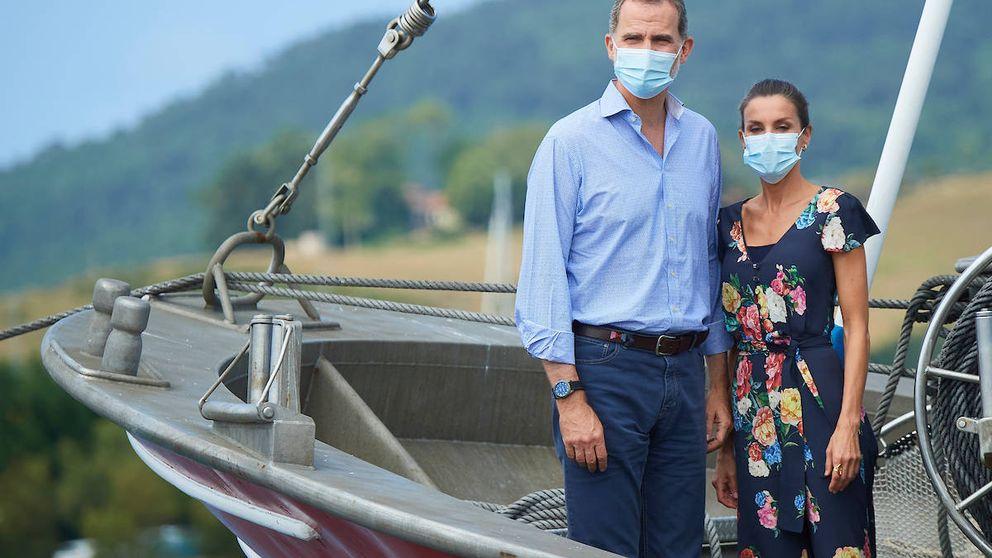 Un cencerro para Felipe y Letizia en Cantabria y otros detalles de su visita
