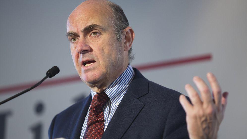 Foto: El ministro en funciones de Economía y Competitividad, Luis de Guindos. (EFE)