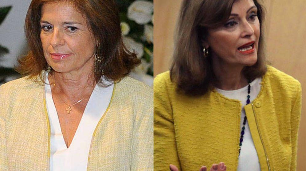 Foto: Ana Botella (ex alcaldesa) y Ana Botella (nueva secretaria de Estado)