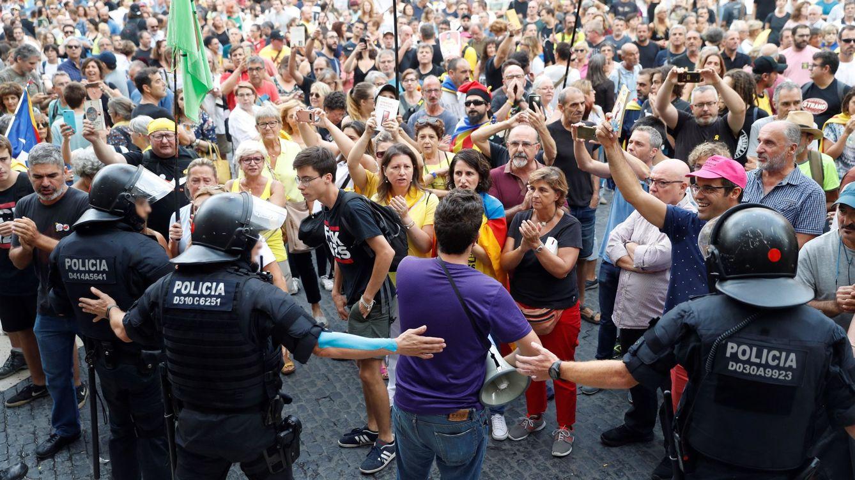 Boicot a la marcha 'española' de Barcelona: un gran ensayo ante los aniversarios del 1-O