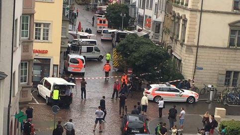Un hombre armado con una motosierra hiere a cinco personas en Schaffhausen
