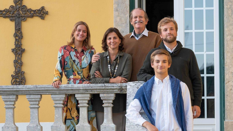 Dom Duarte, con su mujer y sus tres hijos. (Foto: Fundação Dom Manuel II)