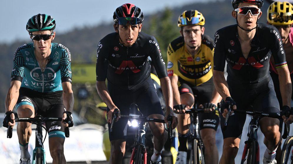 Foto: Bernal se quedó a muchos kilómetros de la montaña fuera de las opciones. (Reuters)
