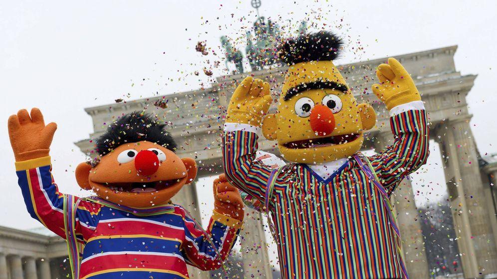 Foto: Epi y Blas son famosos en todo el mundo (EFE/Sven hoppe)