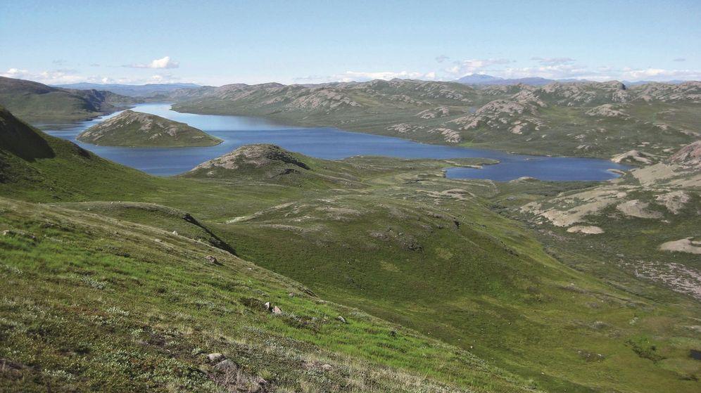 Foto: Una imagen del lago Aasivissuit ñ nipisat, en Groenlandia (EFE)