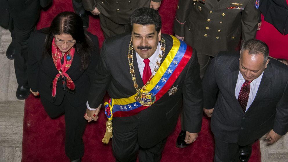 Maduro deja en manos de Dios el catastrófico futuro de Venezuela