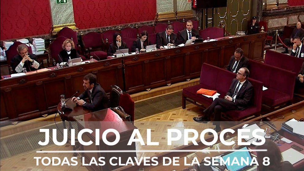 Resumen semana 8 del juicio del procés: dos jefes de los Mossos cierran el cerco sobre Puigdemont