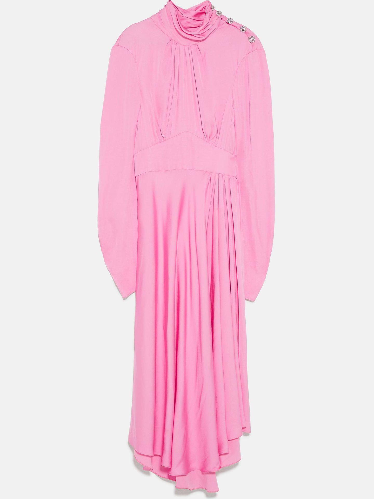 Vestido en cuestión. (Zara)