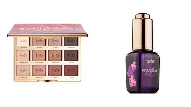 Iconos de Tarte Cosmetics. (Sephora)