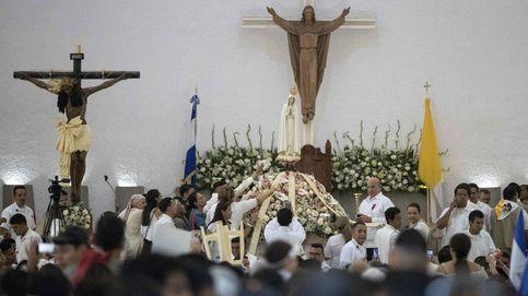 La virgen de Fátima en la catedral de Managua
