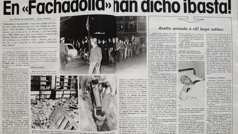 Páginas del artículo de Interviú