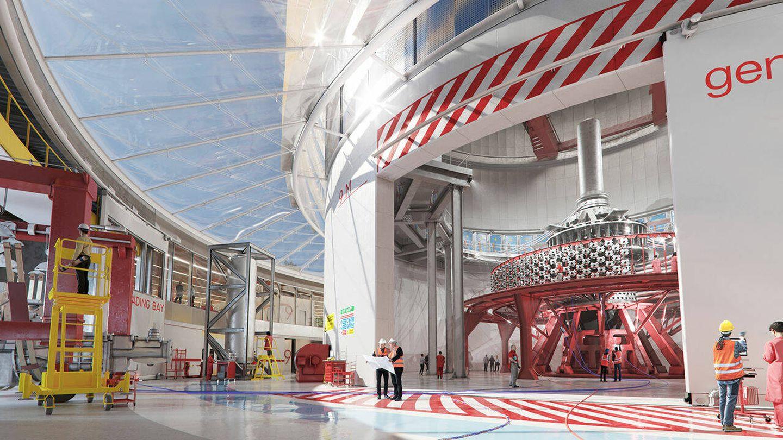 La planta piloto empezará a funcionar en 2025. (General Fusion)