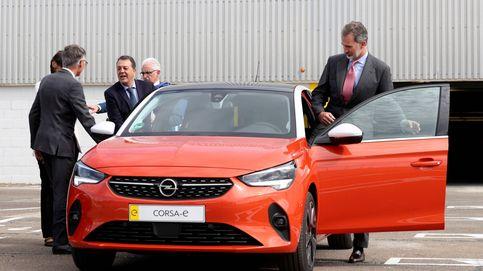 Los coches de Opel y Renault de Felipe VI