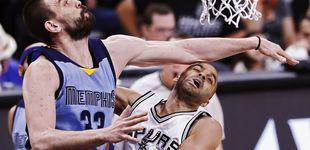 Post de La canasta de Marc Gasol con la cabeza ante los Spurs (que no valió para nada)