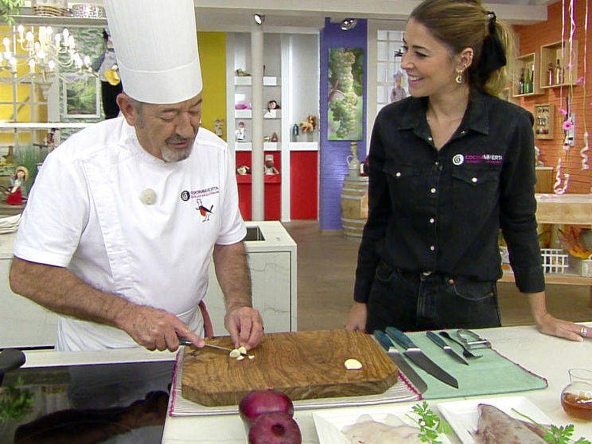 Foto: Karlos Arguiñano en su programa. (Atresmedia Televisión)