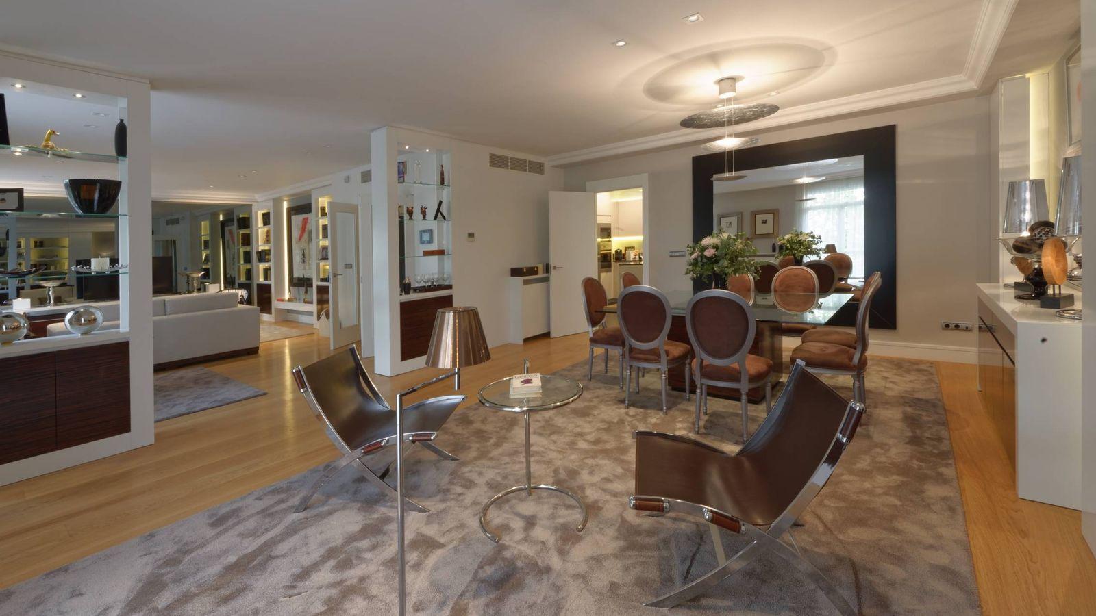 Vivienda as son los primeros pisos de superlujo en for Pisos de lujo en madrid