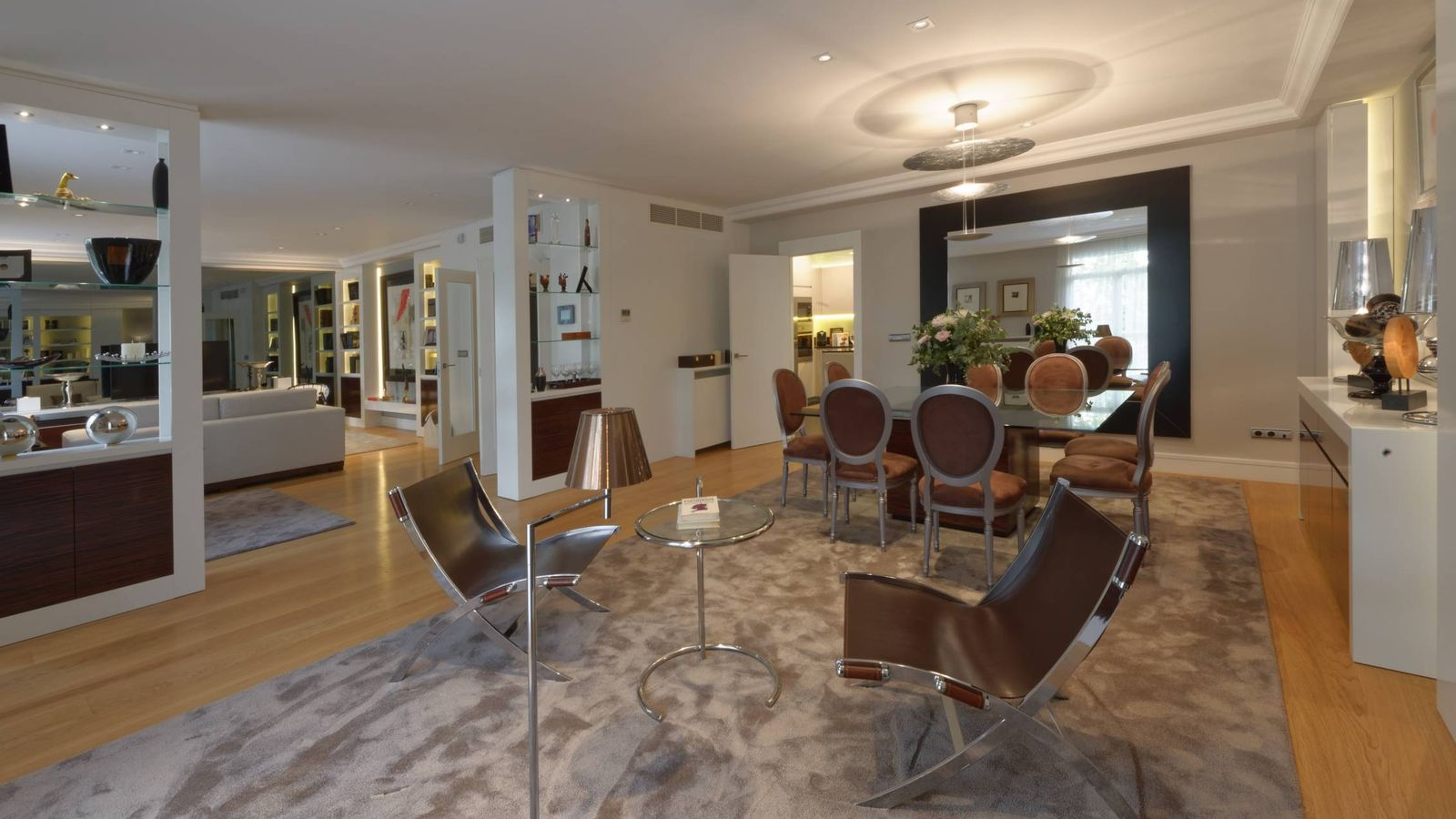 Vivienda as son los primeros pisos de superlujo en for Viviendas lujo madrid