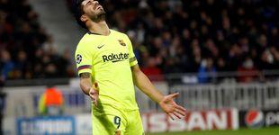 Post de El acusado declive de Luis Suárez, un goleador que nunca marca por Europa