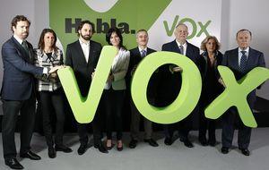 Vox sigue resquebrajándose y Camuñas se va por las peleas