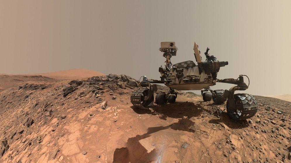 Foto: Curiosity, el robot explorador de la NASA en Marte. (EFE)