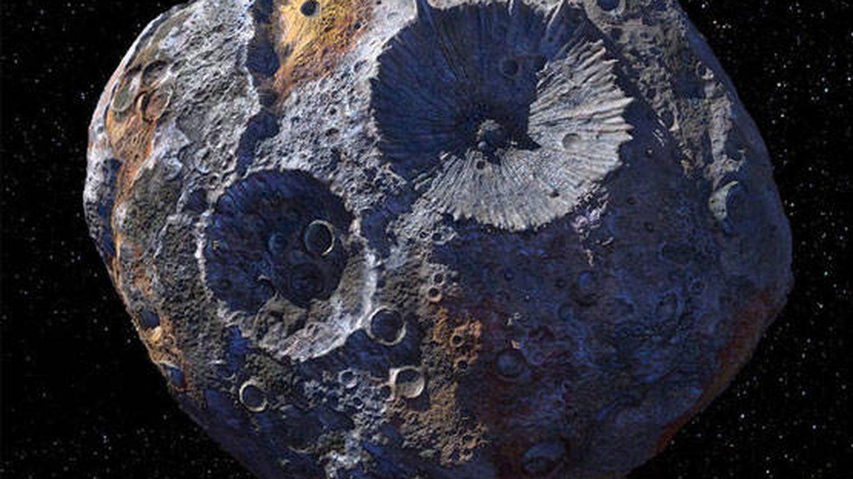 Así es el asteroide valorado en 10 trillones de dólares por la NASA