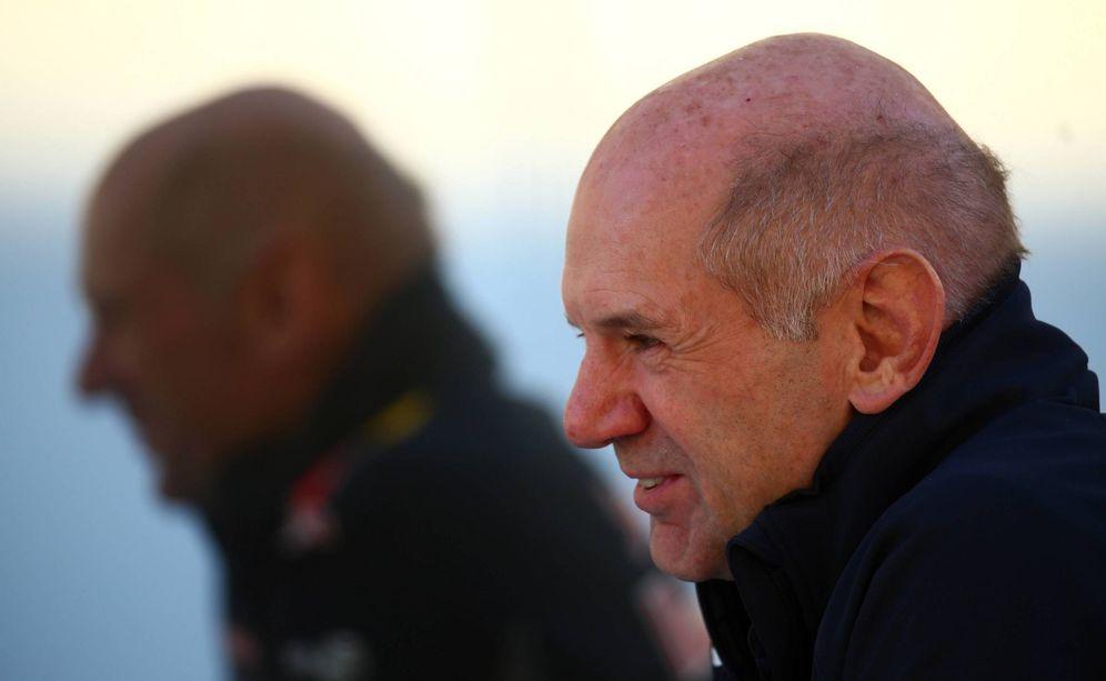 Foto: Adrian Newey seguirá ligado a Red Bull, pero cada vez con menos responsabilidad en la Fórmula 1. (Imago)