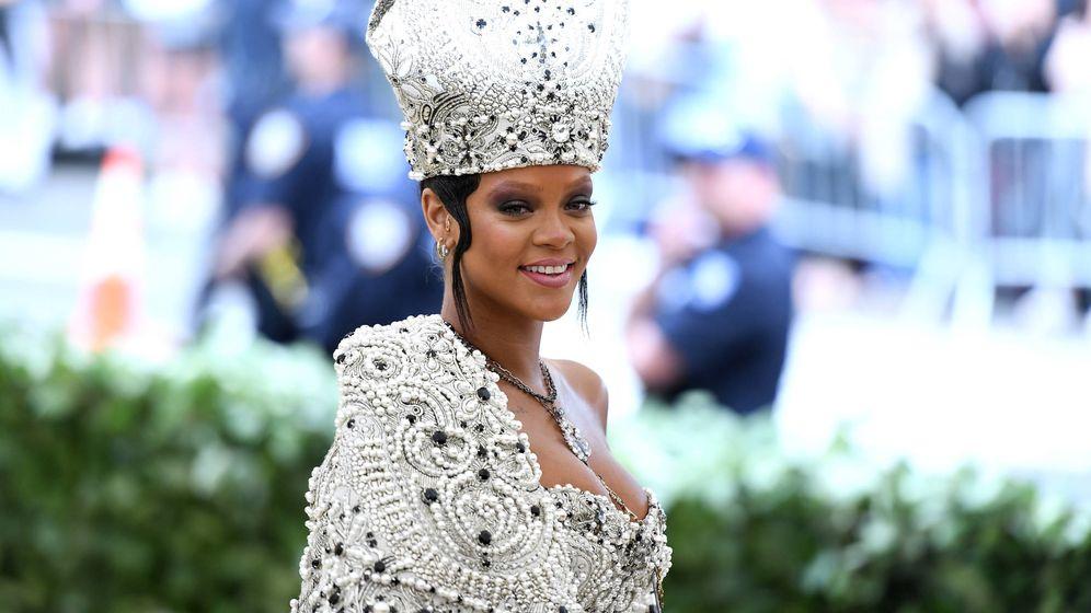 Foto: Rihanna durante la pasada gala del MET. (Imagen: Getty Images)