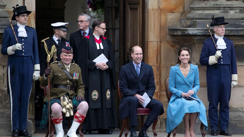 Guillermo y Kate en Escocia (Reuters)