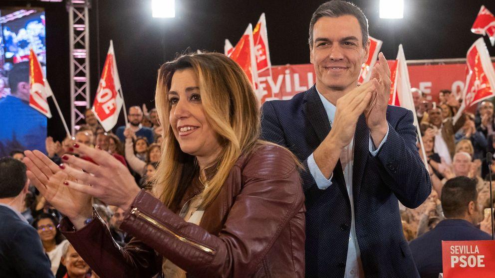 Sánchez pide el voto de centro e ignora la tormenta del PNV y Bildu