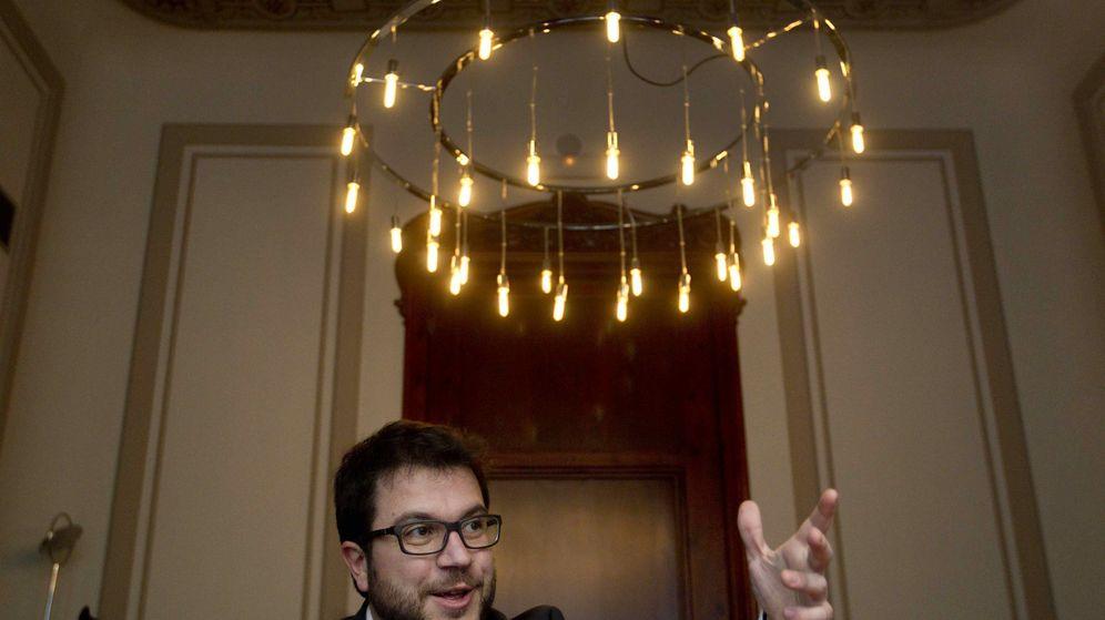 Foto: El secretario de Economía de la Generalitat, Pere Aragonès en una imagen de archivo. (Efe)