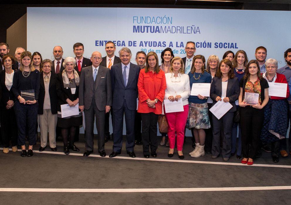 Foto: Acto de entrega de las nuevas Ayudas Sociales de la Fundación Mutua Madrileña.