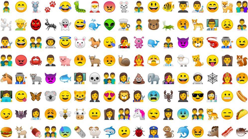 Foto: Unicode, la empresa desarrolladora de los iconos, ha apostado en esta ocasiones por los inclusivos, de animales y de comida.