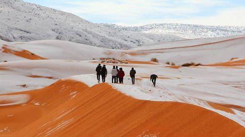 La nieve llega al Sáhara: el desierto vive su tercera nevada en 40 años