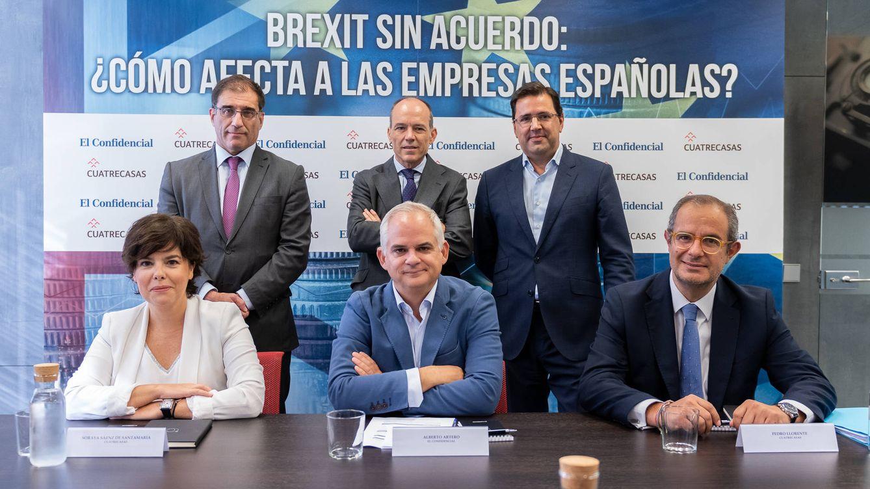 Sáenz de Santamaría: un Brexit duro será una yincana burocrática para las empresas