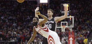 Post de Monumental remontada de los Spurs ante los Rockets con un Gasol estelar