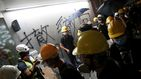 Protestas en Hong Kong, en directo: los manifestantes entran en el Parlamento