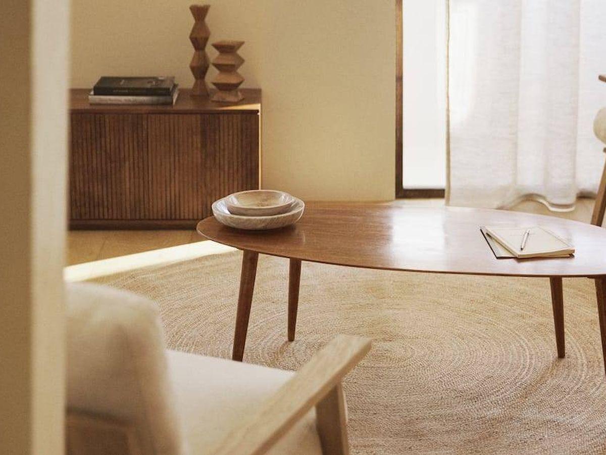 Foto: Mesas redondas en las rebajas de Zara Home. (Cortesía)