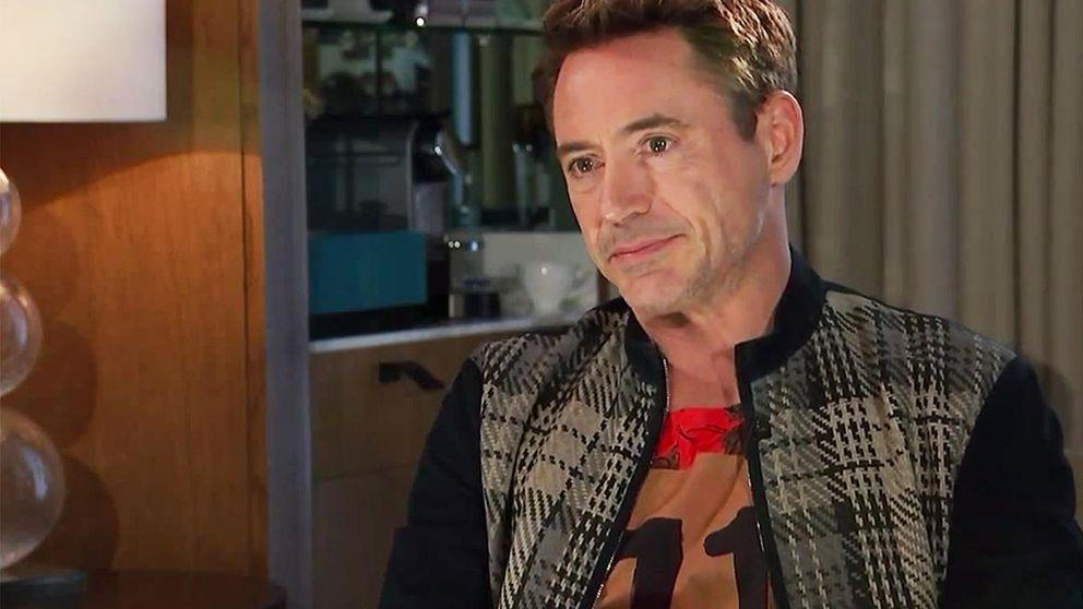 Robert Downey Jr. huye de su pasado con las drogas en una entrevista
