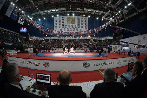 Foto: El campeonato se está disputando en Estambul (WKF)