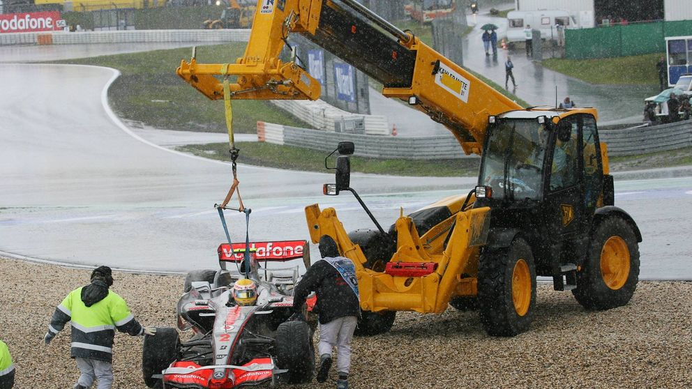 La maniobra de Hamilton o cuando los pilotos de F1 piden poner trampas