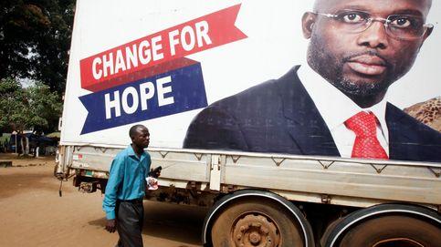 George Weah, de la chabola a la presidencia de Liberia... pasando por el Balón de Oro