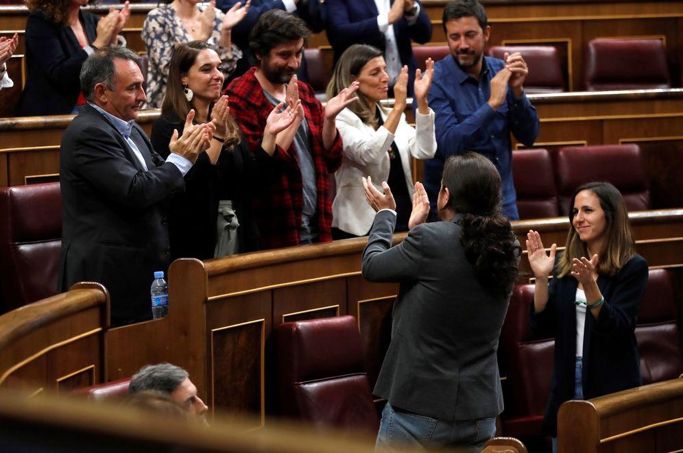 Foto: Lo que queda de UP. (Chema Moya/EFE)