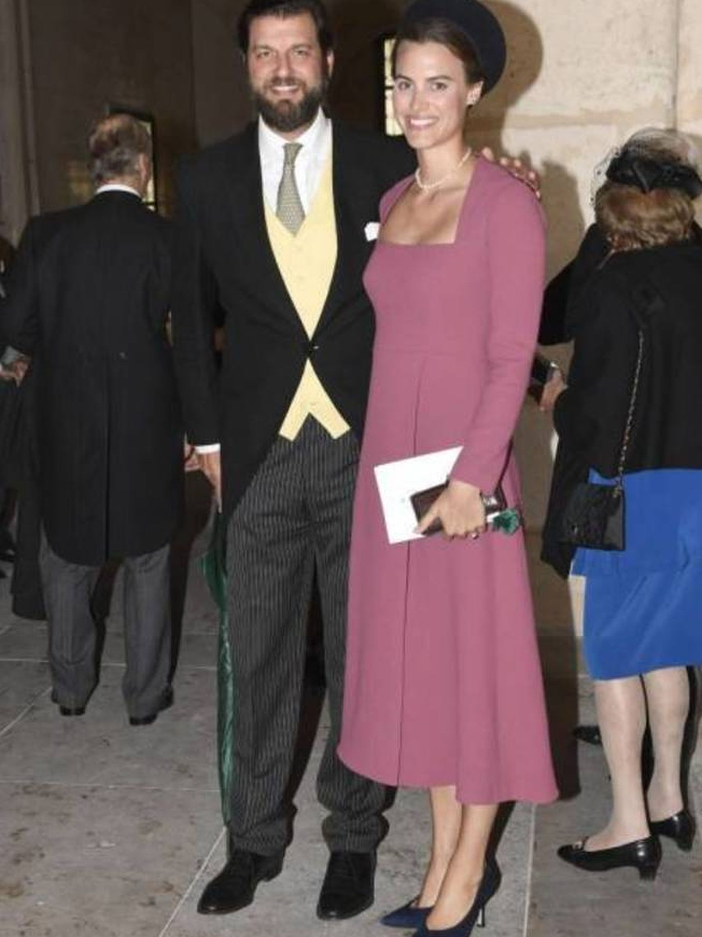 Alana Bunte y su marido, en una boda el año pasado. (Cordon Press)