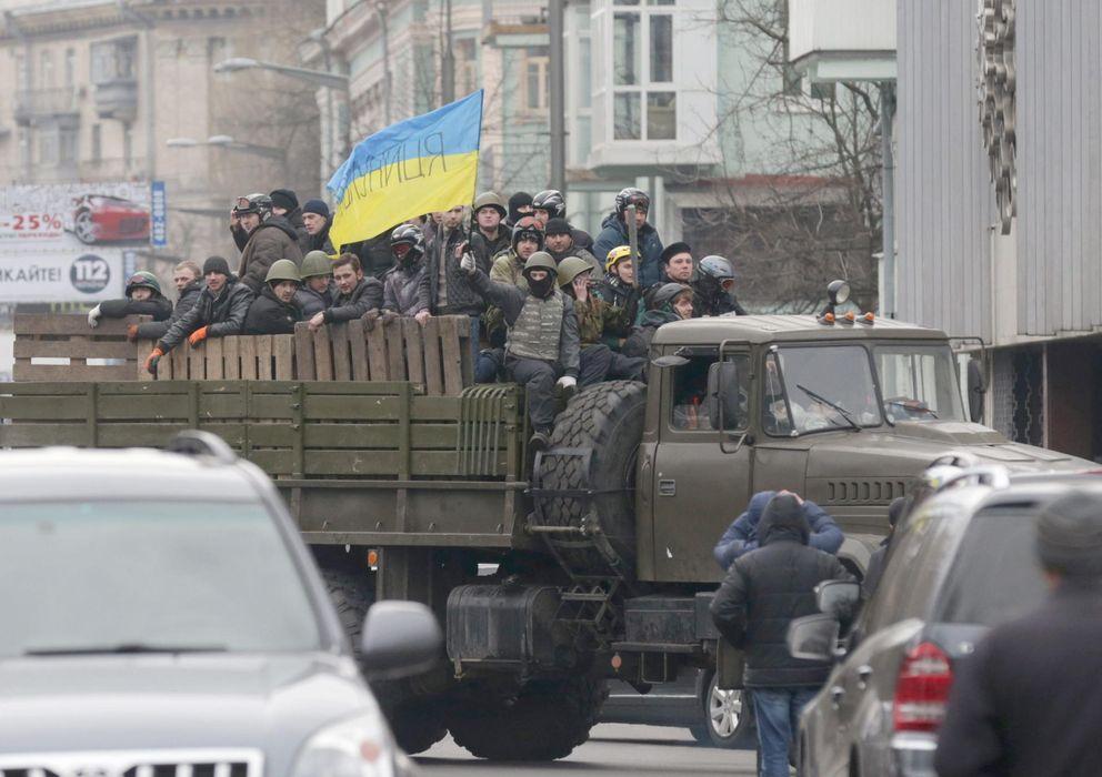 Foto: Imagen de una de las calles de Kiev. (EFE)