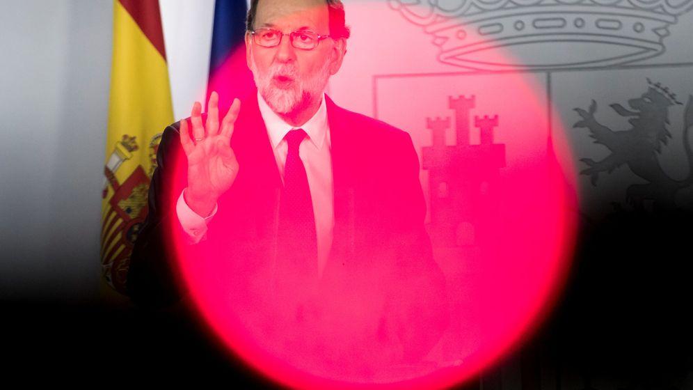 Foto: El presidente del Gobierno, Mariano Rajoy, durante una rueda de prensa en la Moncloa. (Reuters)