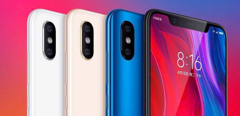 Foto: Así es el Xiaomi Mi 8. (Xiaomi)