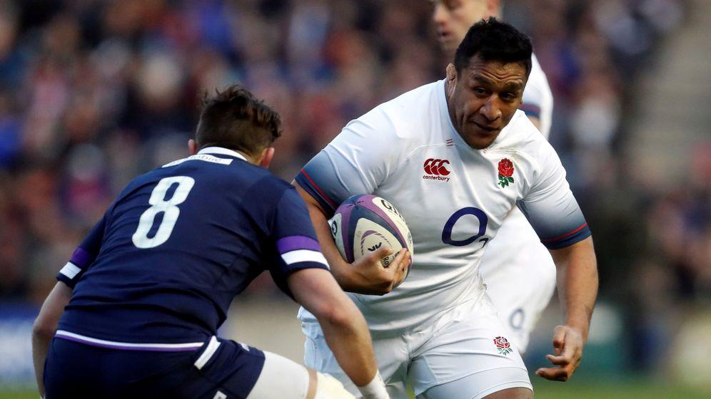 Foto: Mako Vunipola, contra Escocia. (Reuters)